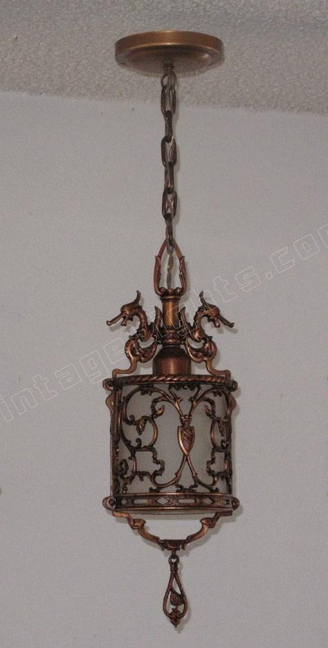 Spanish Revival Antique Lighting Fixture