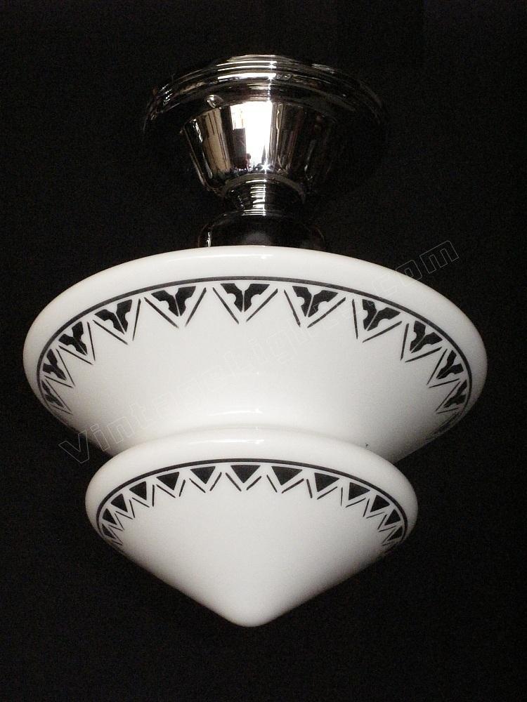 art deco ceiling light fixtures vintage art deco ceiling light fixture