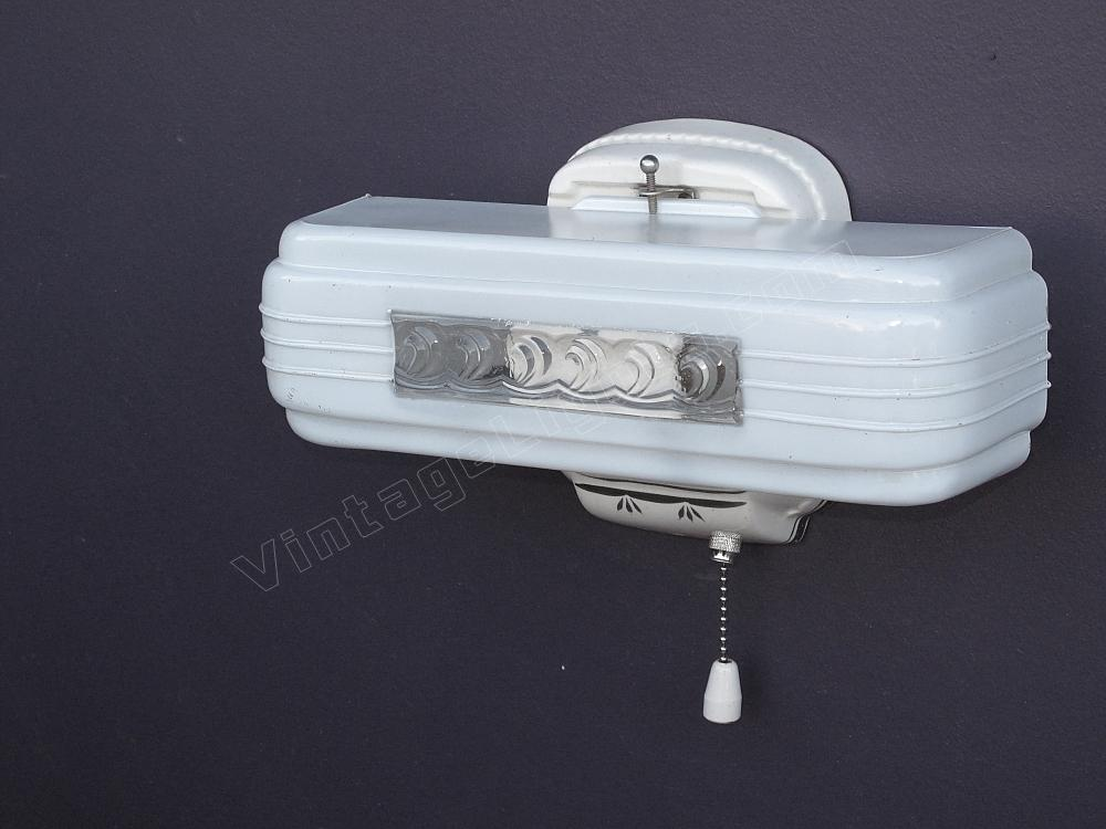 Vintage bathroom light