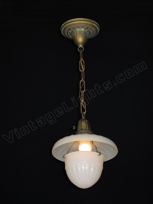 Vintage kitchen light fixture antique kitchen lighting on hold 1911 peerlite pendant vintage light fixture workwithnaturefo