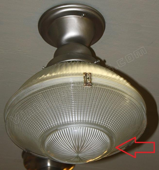 Vintage industrial lighting fixture  vintage ceiling light ...