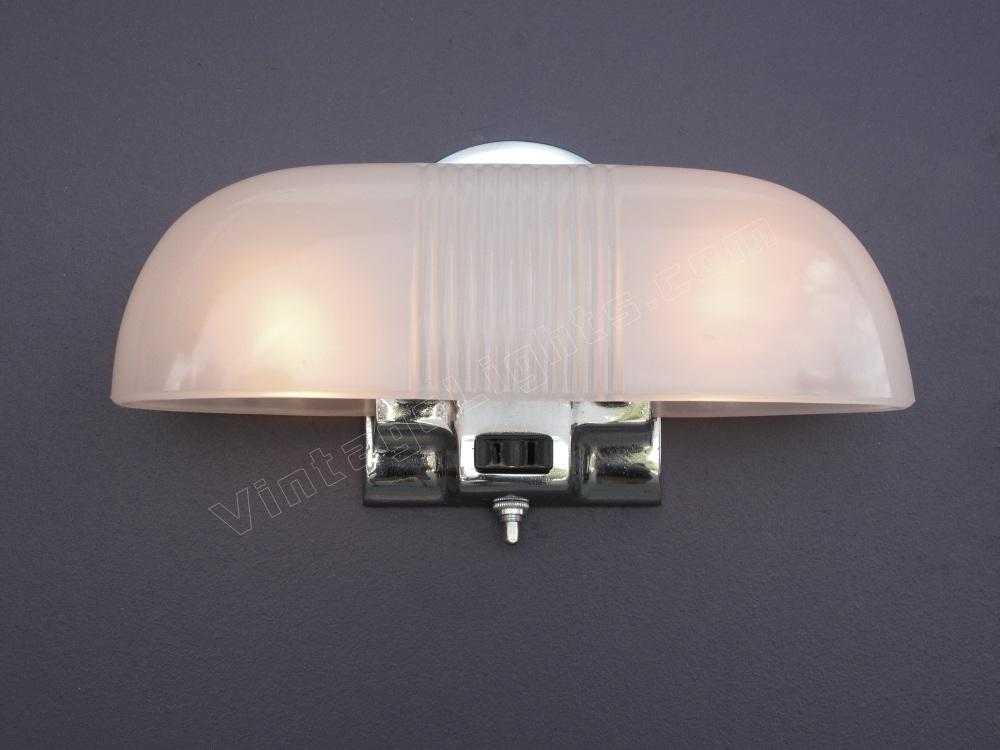 Vintage Bathroom Lights chrome bathroom lighting | vintage chrome bath light