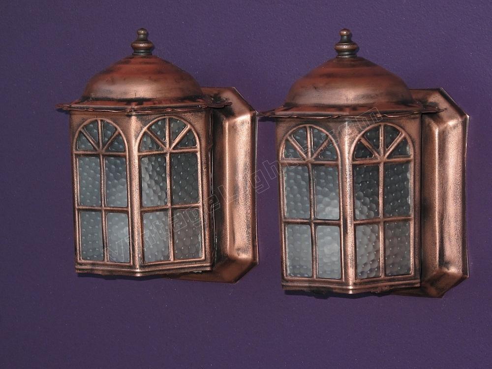copper vintage porch lights antique porch lighting fixtures