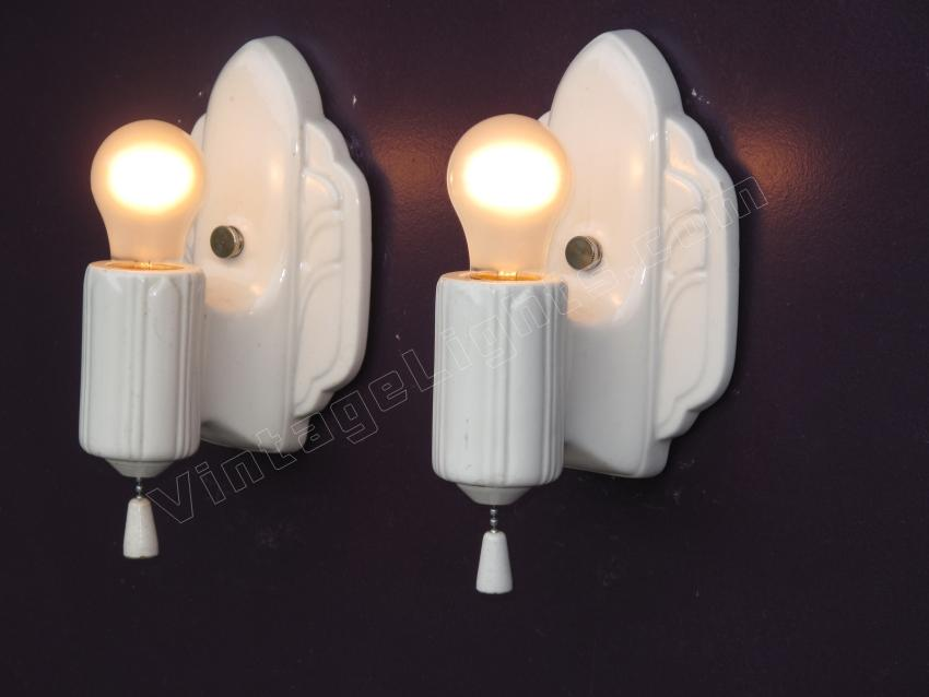 art deco inspired vintage lighting wall sconces for kitchen or