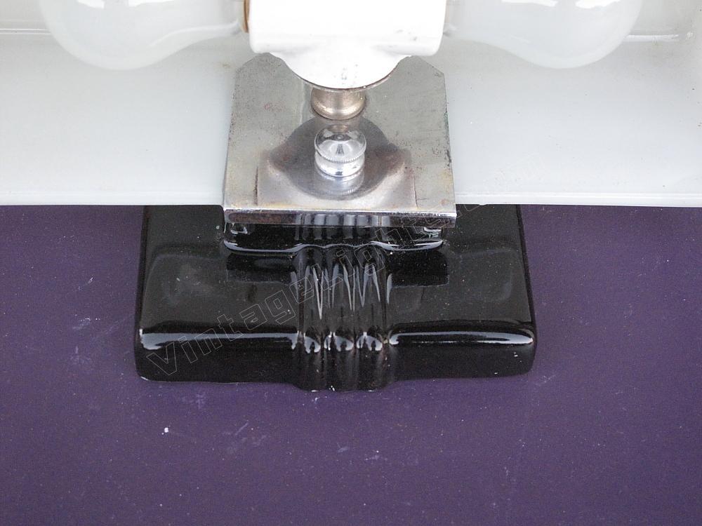 Black Porcelain Wall Sconces : Black bathroom light fixture black porcelain sconce