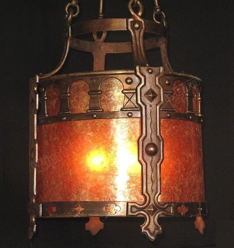 Spanish revival tudor lighting for Spanish revival lighting fixtures