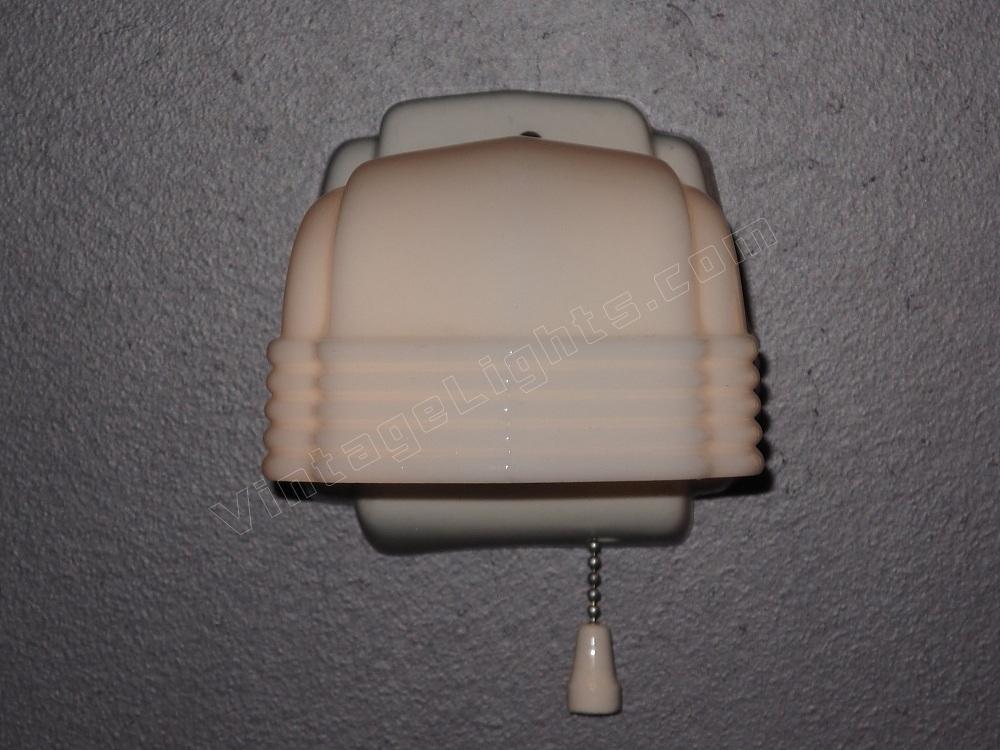 Comvintage Bathroom Lights : Vintage Bathroom Lighting Pair Antique Wall Sconces