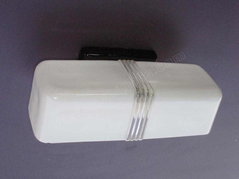 Black bathroom light fixture black porcelain sconce