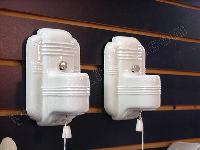 antique porcelain bathroom light fixtures. vintage pair of porcelain bath lighting sconces. antique light fixtues bathroom fixtures