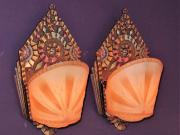 Beardslee Sconces Original Paint