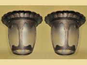 Pair Flush Mount Porch Fixture